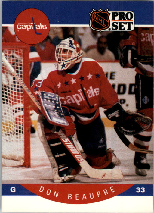 1990-91 Pro Set #307 Don Beaupre