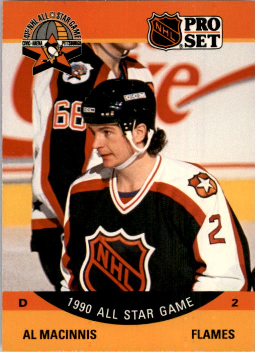 1990-91 Pro Set #337 Al MacInnis AS