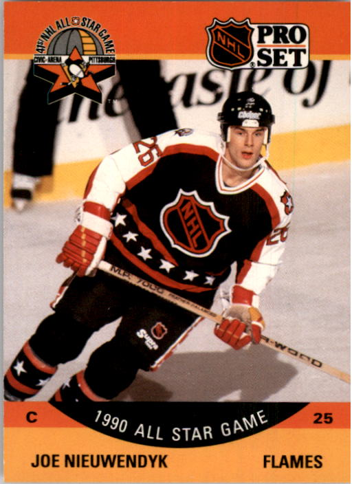 1990-91 Pro Set #344 Joe Nieuwendyk AS