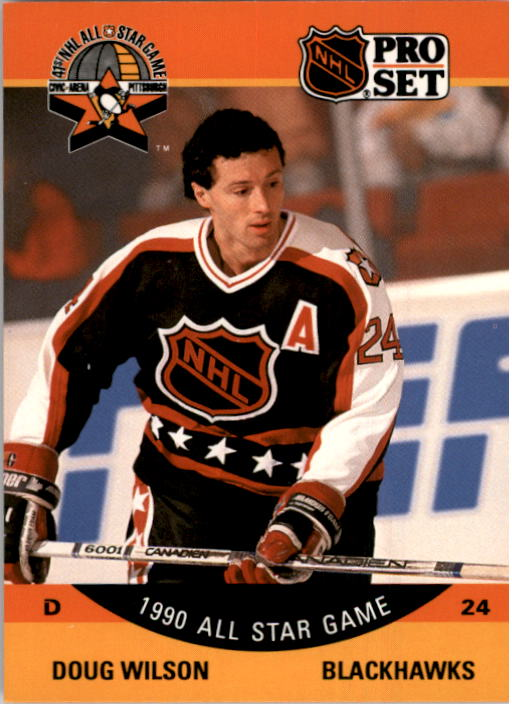 1990-91 Pro Set #346 Doug Wilson AS