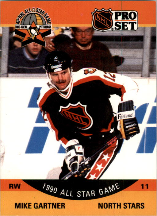 1990-91 Pro Set #351 Mike Gartner AS