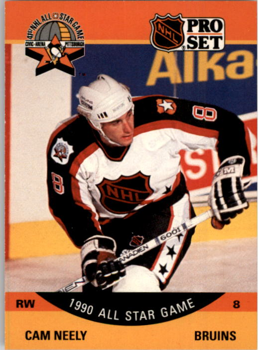1990-91 Pro Set #358 Cam Neely AS