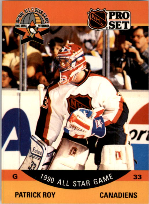 1990-91 Pro Set #359 Patrick Roy AS