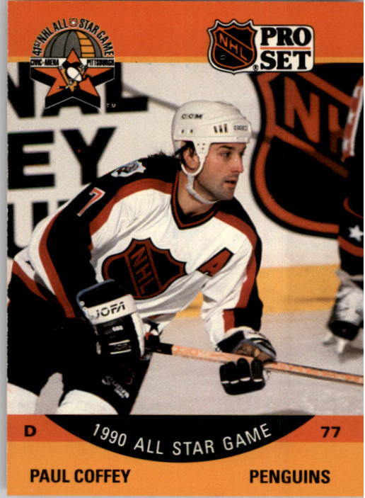 1990-91 Pro Set #361 Paul Coffey AS