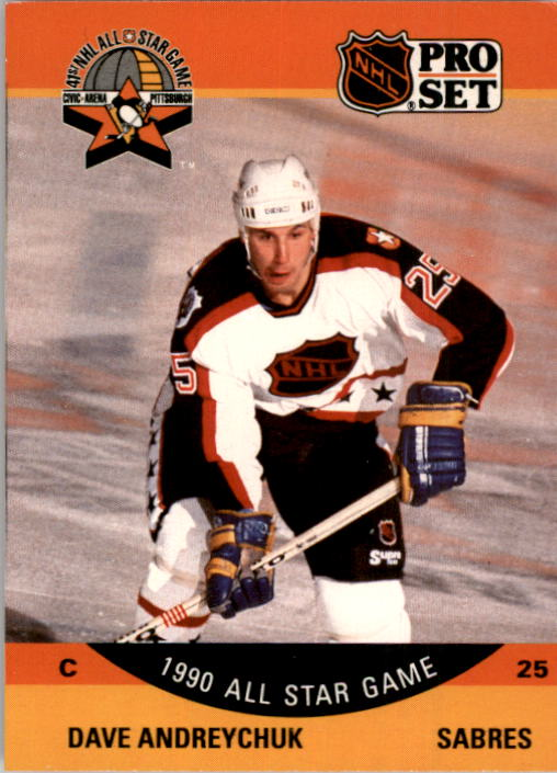 1990-91 Pro Set #363 Dave Andreychuk AS