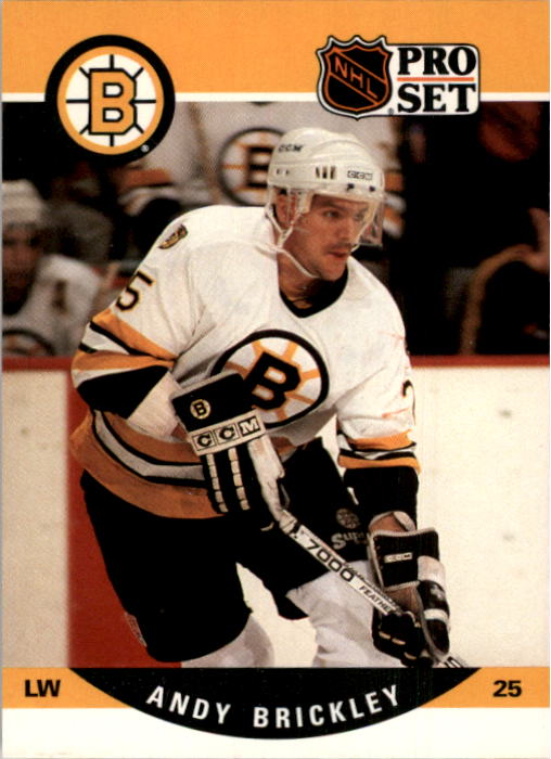 1990-91 Pro Set #406 Andy Brickley