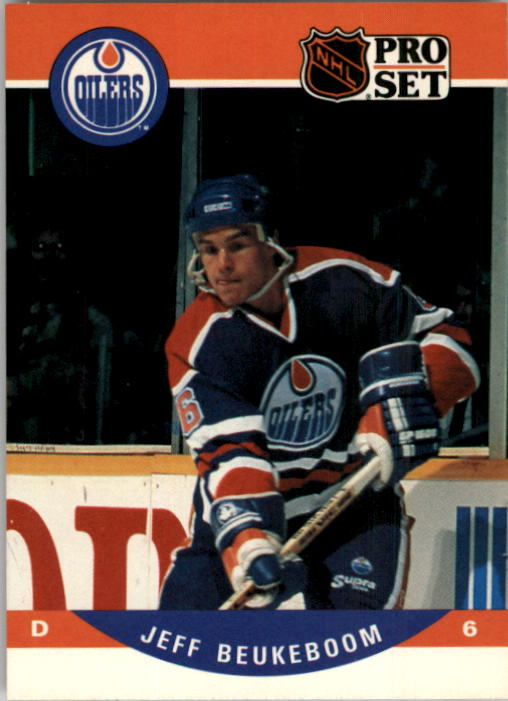 1990-91 Pro Set #439 Jeff Beukeboom RC