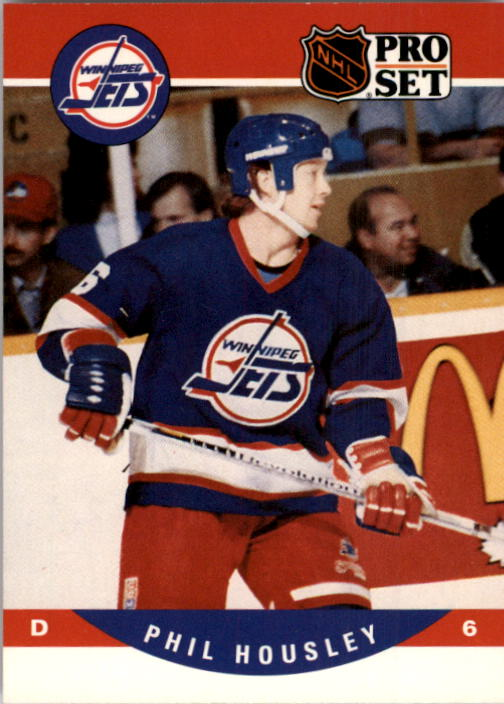 1990-91 Pro Set #562 Phil Housley