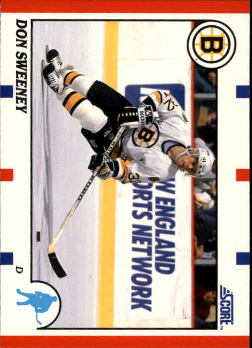 1990-91 Score #51A Don Sweeney RC