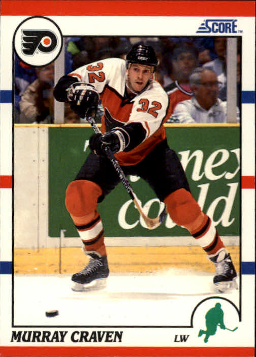 1990-91 Score #56 Murray Craven