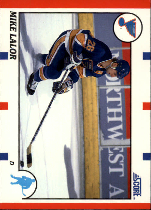 1990-91 Score #67 Mike Lalor RC