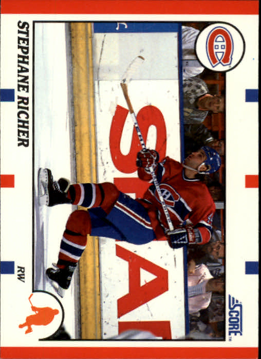 1990-91 Score #75 Stephane Richer
