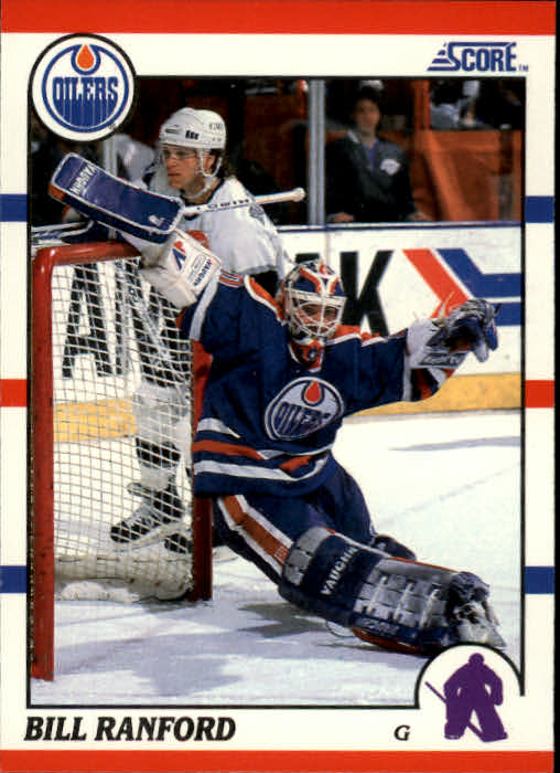 1990-91 Score #79 Bill Ranford