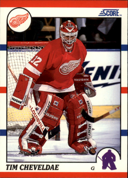 1990-91 Score #87 Tim Cheveldae RC
