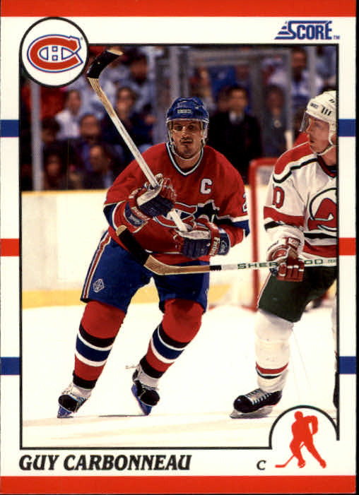 1990-91 Score #91 Guy Carbonneau
