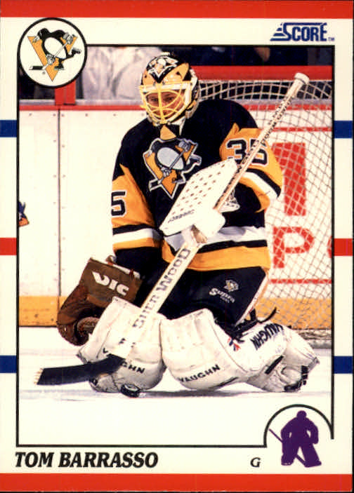 1990-91 Score #121 Tom Barrasso