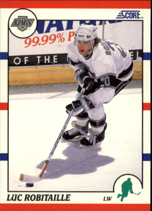 1990-91 Score #150 Luc Robitaille