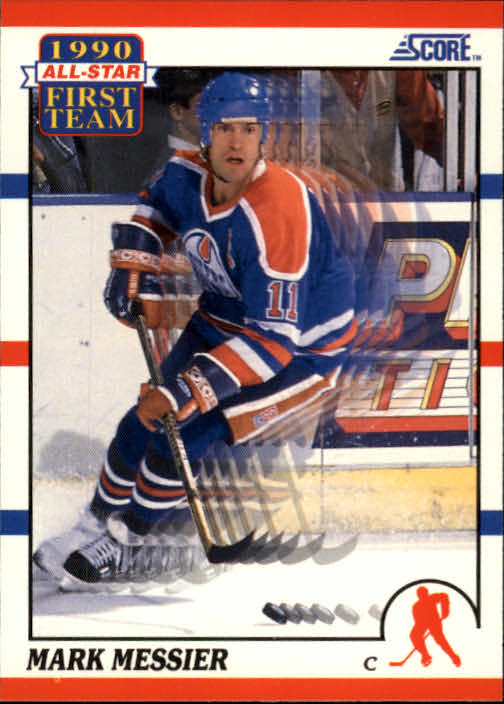 1990-91 Score #315 Mark Messier AS1