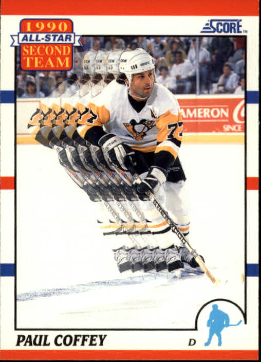 1990-91 Score #319 Paul Coffey AS2