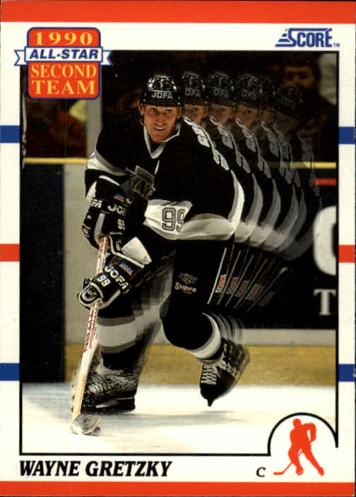 1990-91 Score #321 Wayne Gretzky AS2