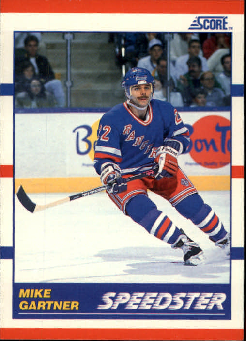 1990-91 Score #333 Mike Gartner Speed