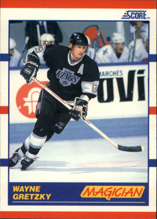 1990-91 Score #338 Wayne Gretzky Magic