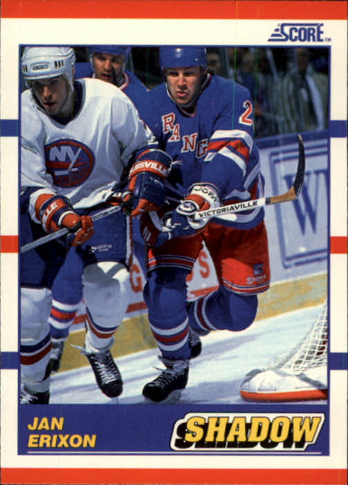 1990-91 Score #343 Jan Erixon Shadow