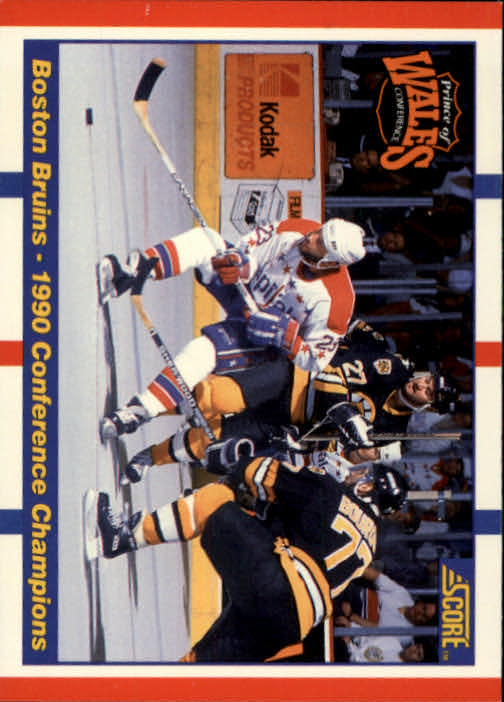1990-91 Score #368 Boston/Washington UER/(Janney misspelled Janny on back)