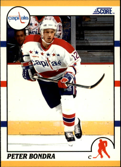 1990-91 Score Rookie/Traded #71T Peter Bondra RC