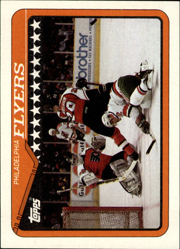 1990-91 Topps #80 Flyers Team