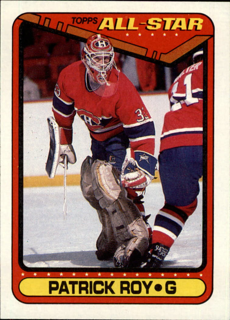1990-91 Topps #198 Patrick Roy AS1