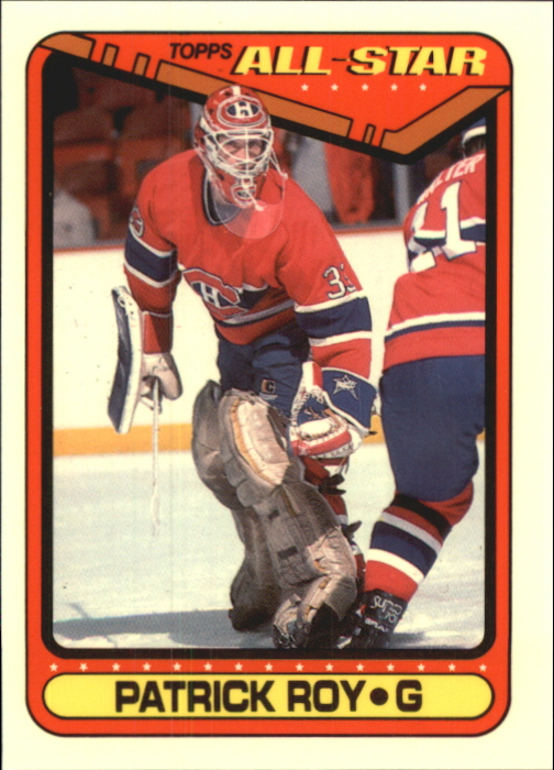 1990-91 Topps Tiffany #198 Patrick Roy AS1