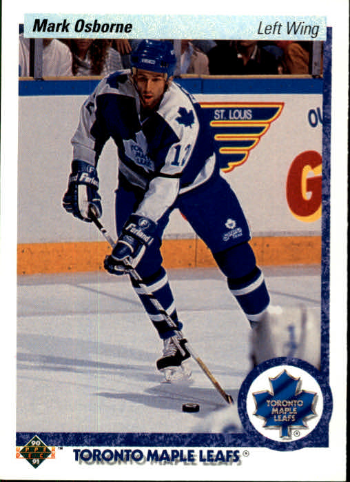 1990-91 Upper Deck #5 Mark Osborne