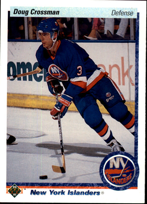 1990-91 Upper Deck #7 Doug Crossman