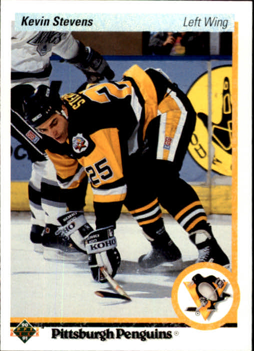 1990-91 Upper Deck #14 Kevin Stevens RC