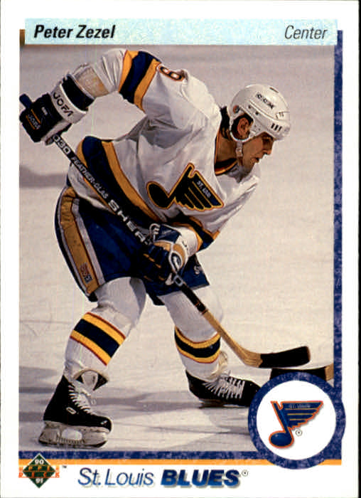 1990-91 Upper Deck #17 Peter Zezel