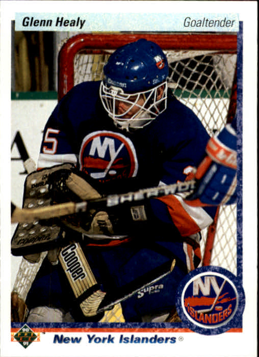 1990-91 Upper Deck #18 Glenn Healy RC