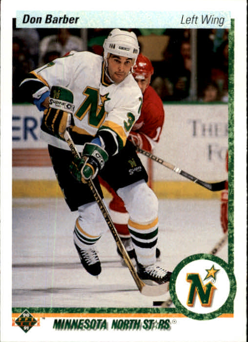 1990-91 Upper Deck #28 Don Barber