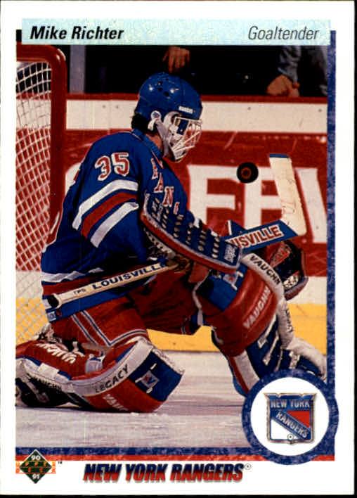 1990-91 Upper Deck #32 Mike Richter RC