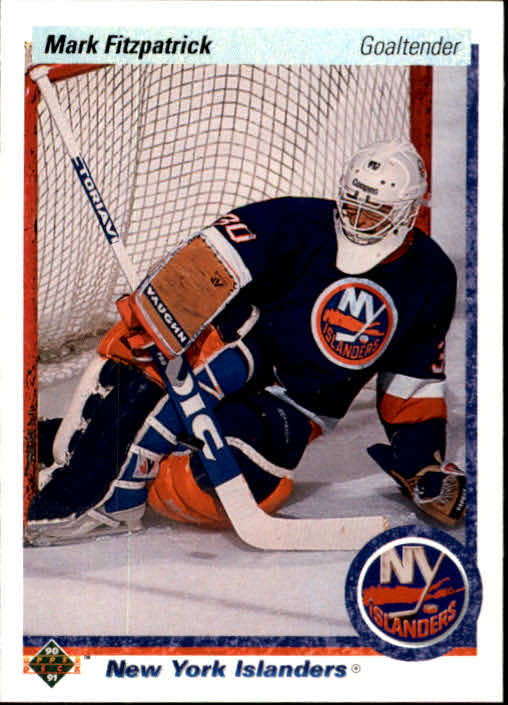 1990-91 Upper Deck #37 Mark Fitzpatrick RC