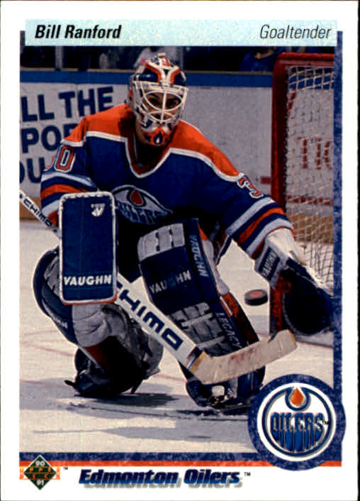 1990-91 Upper Deck #42 Bill Ranford