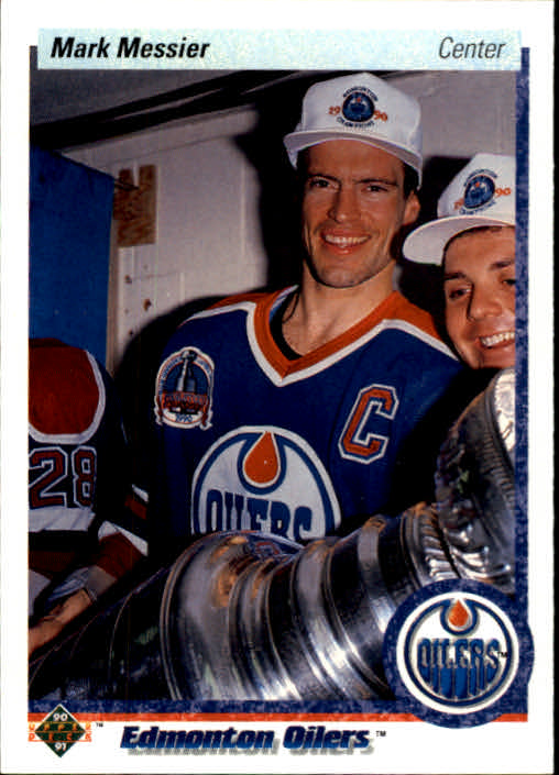 1990-91 Upper Deck #44 Mark Messier