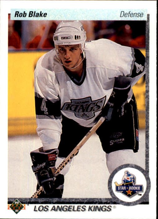 1990-91 Upper Deck #45 Rob Blake RC