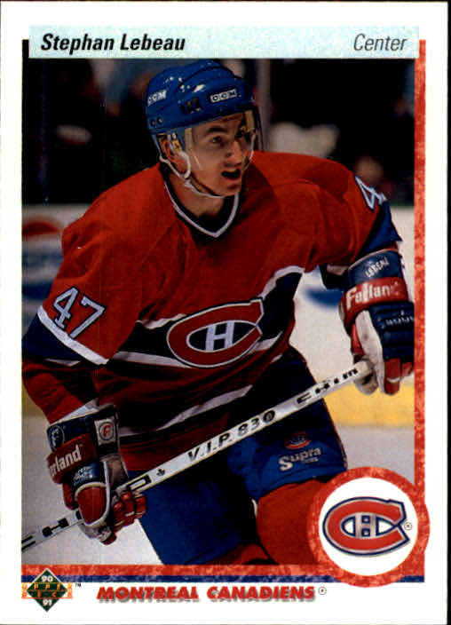 1990-91 Upper Deck #51 Stephan Lebeau RC