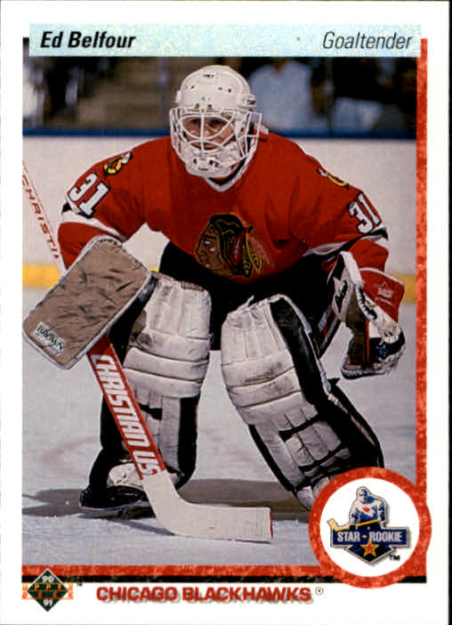 1990-91 Upper Deck #55 Ed Belfour RC