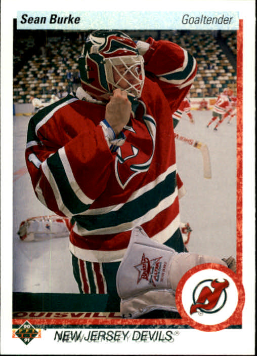 1990-91 Upper Deck #66 Sean Burke