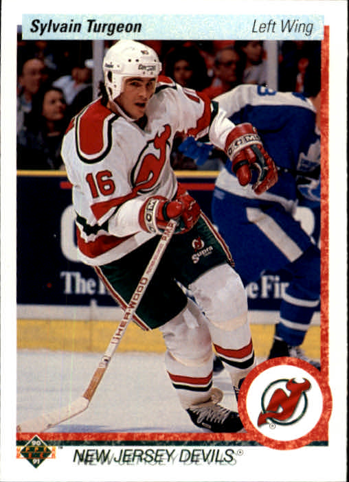1990-91 Upper Deck #70 Sylvain Turgeon