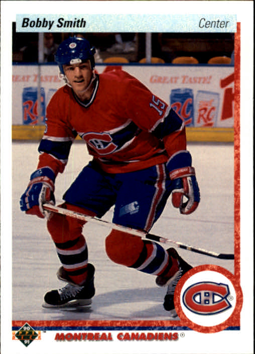 1990-91 Upper Deck #72 Bobby Smith