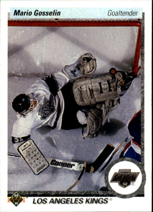 1990-91 Upper Deck #91 Mario Gosselin