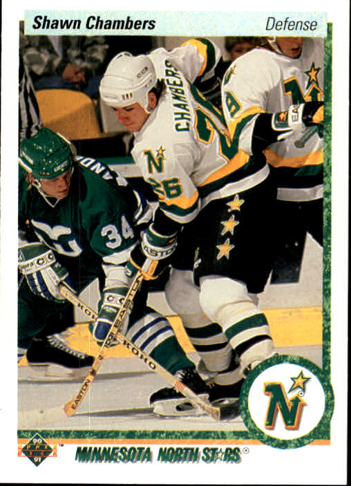 1990-91 Upper Deck #106 Shawn Chambers
